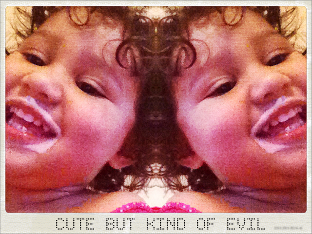 CUTE BUT KIND OF EVIL